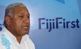 FijiFirst party leader Voreqe Bainimarama To Be Sworn-in As Prime Minister Today