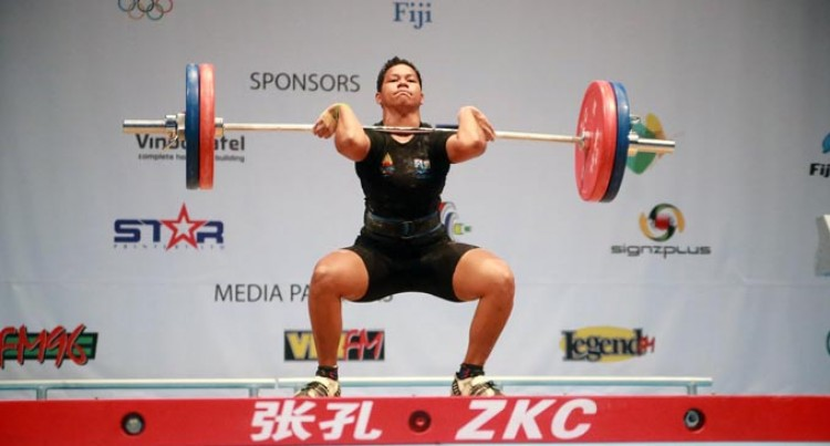 Japan Next For Star Weightlifter