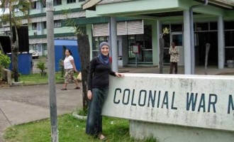 Partial Quarantine Precaution At The Colonial War Memorial