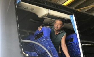 Bus Stoning Worries Pacific Transport
