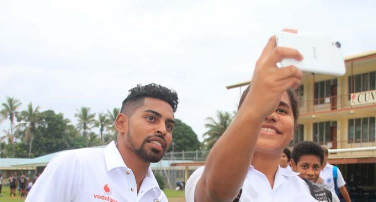National Team Visits Cuvu College