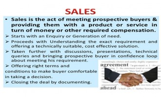SELLING Effectively Towards SAILING Successfully
