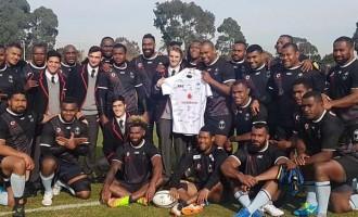 Vodafone Flying Fijians Team For Wallabies Test Named