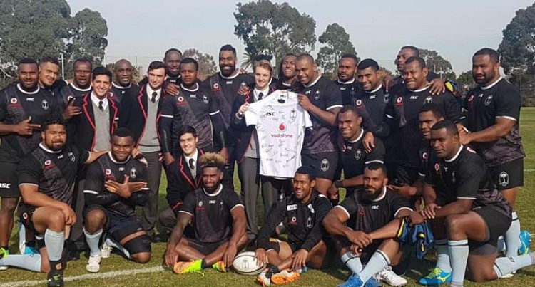 Vodafone Flying Fijians Team For Wallabies Test Named