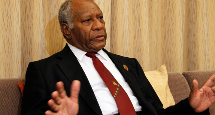 President Brings Fiji's Condolences At Funeral Of Vanuatu President
