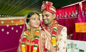 Commitment, Support Wins Bride's Heart