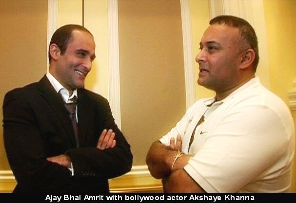 Vinod Khanna's Son Akshay Khanna with Ajay Bhai Amrit