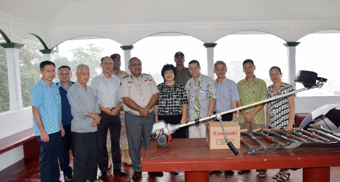Local Chinese Community Boost Corrections Work