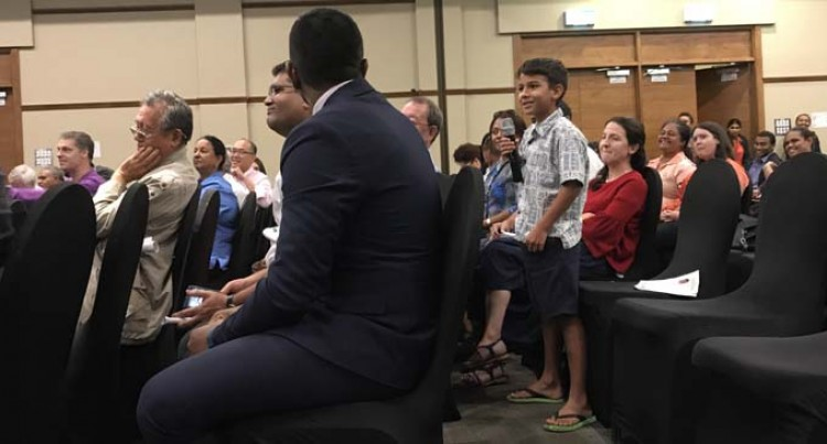 Speaker's Debate: 9-year-old Asks Minister Koya About Pollution