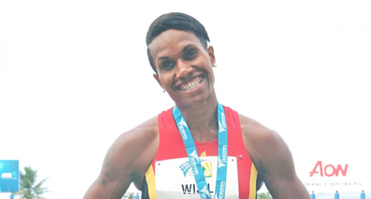 Golden Girl Wisil on track