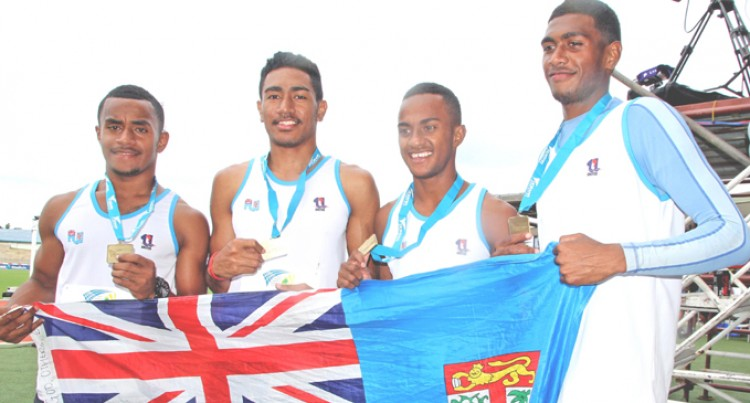 Fijians Win Relay Gold