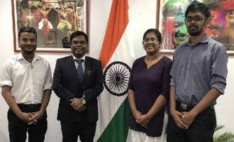 Couple Go To India Together After Scholarship Approval