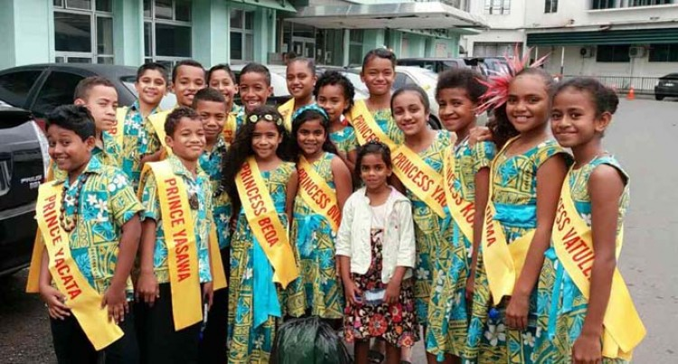 Prince, Princesses Bring Smiles To Sick Children In Suva Hospital