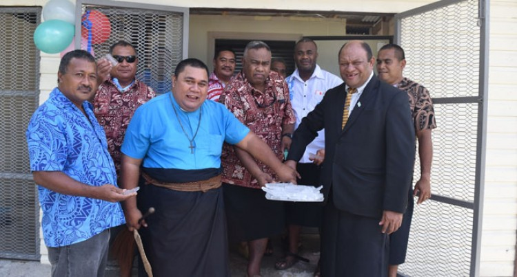 Minister Opens New Rotuma Fisheries Station