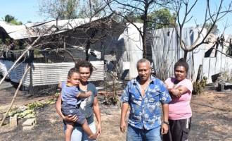 Ten Homeless In House Fire