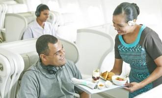 Fiji Airways Bula Bid Allows  Guests To Upgrade Seat
