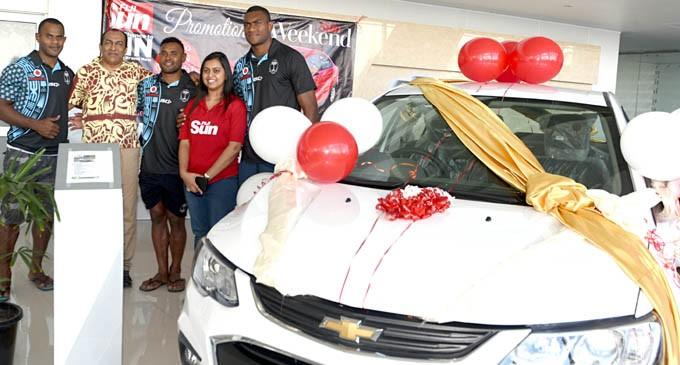 Win A Car With Your Fiji Sun Weekend
