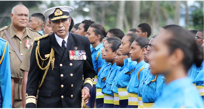 Protect Our Girls, Women: Naupoto To Male Cadets