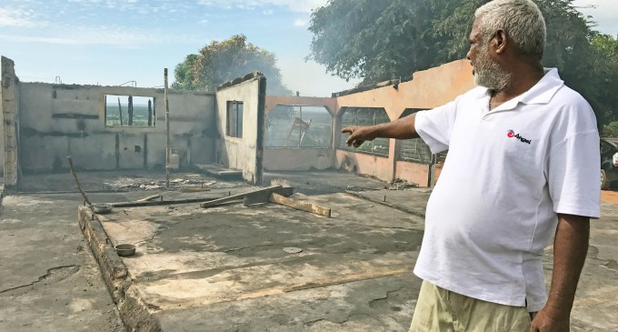 Family Faces Uncertain Future After Fire Gutted Home