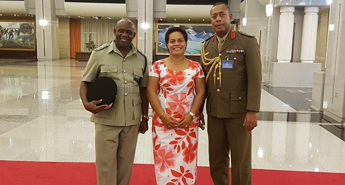 Colonel Kalouniwai Attends Seminar