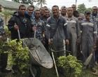 Fijian, NZ Navies in Community Work