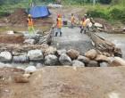 Fiji Roads Authority Fixing Damaged Crossing