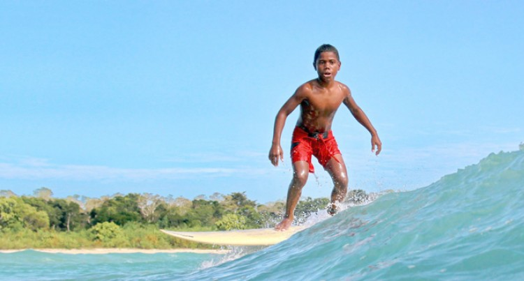 Junior Surfers Prepare For World Comp