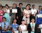 Students Awarded National Green Olympiad Certificates