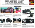 WANTED LIST, 10th July 2017