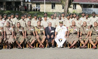 Minister Challenges New Army Junior Leaders