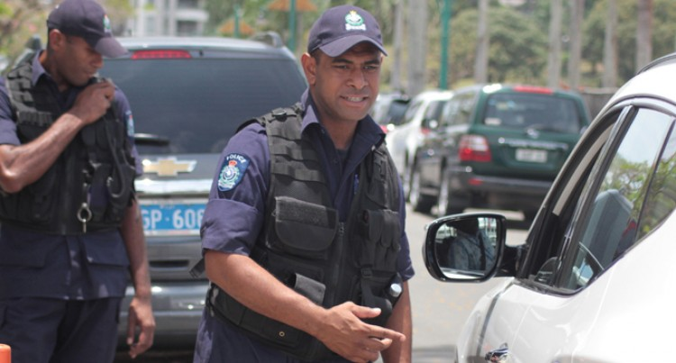 Fiji Police: Security Officers Assist With Arrest