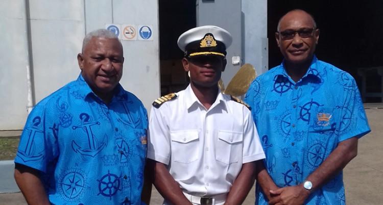 Ratu Inoke Commends Navy's Role