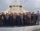 200 Vessels Checked, 35 Infringements Found During HMNZ Hawea's Patrol Work