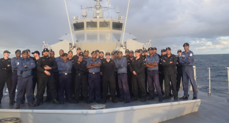 200 Vessels Checked, 35 Infringements Found During HMNZ Hawea's Patrol Work