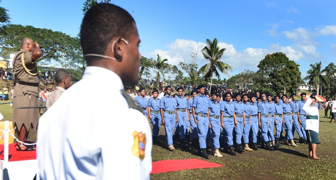 Covunisaqa Reminds Cadets Of Drill Objective