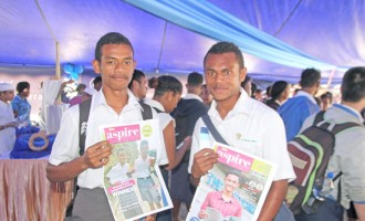 Students Aspire for a Bright Future