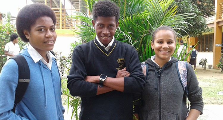 Champagnat Students Receive VOU Scholarships