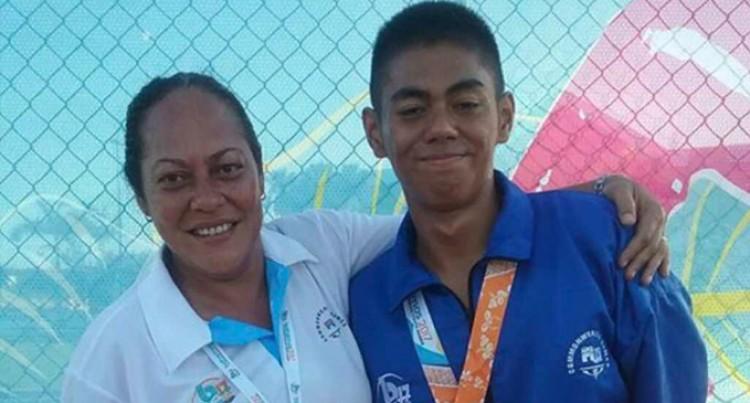 Vakasama Wins First Medal