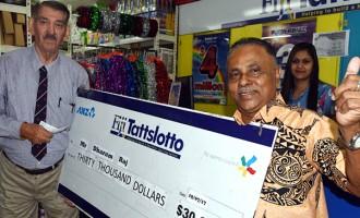 Businessman Wins $30,000 With A Scratch