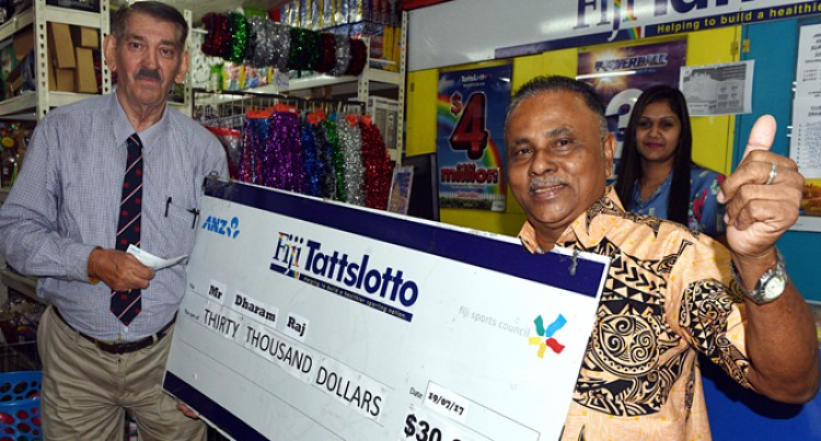 Businessman Wins $30,000 With A Scratch
