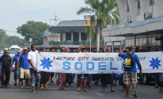 SODELPA Lautoka City Rally Support Only Few