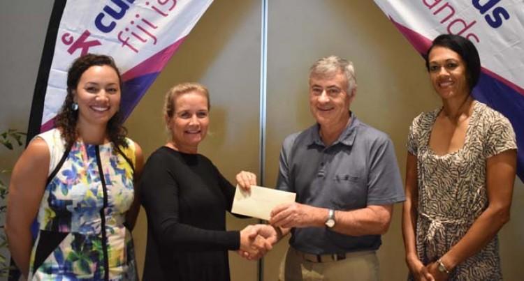 $35K Boost For Cure Kids Fiji
