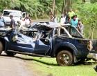 Vehicle Tumbles Down Wailoku Cliff
