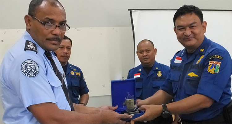 Jakarta Trainers Upgrade Local Fire Officers