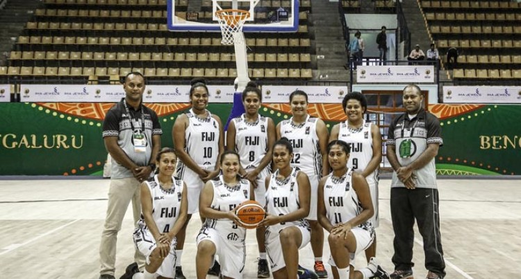 Loss Fails To  Deter Fijian  Basketballers