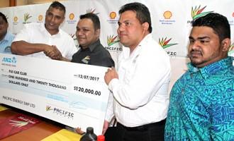$120K For Fiji Car Club