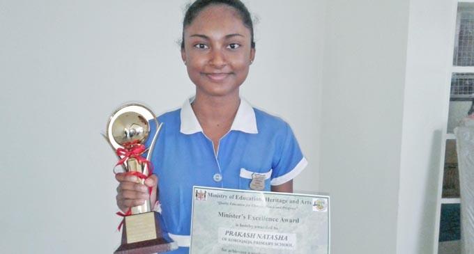 Natasha Conquers National Green Olympiad