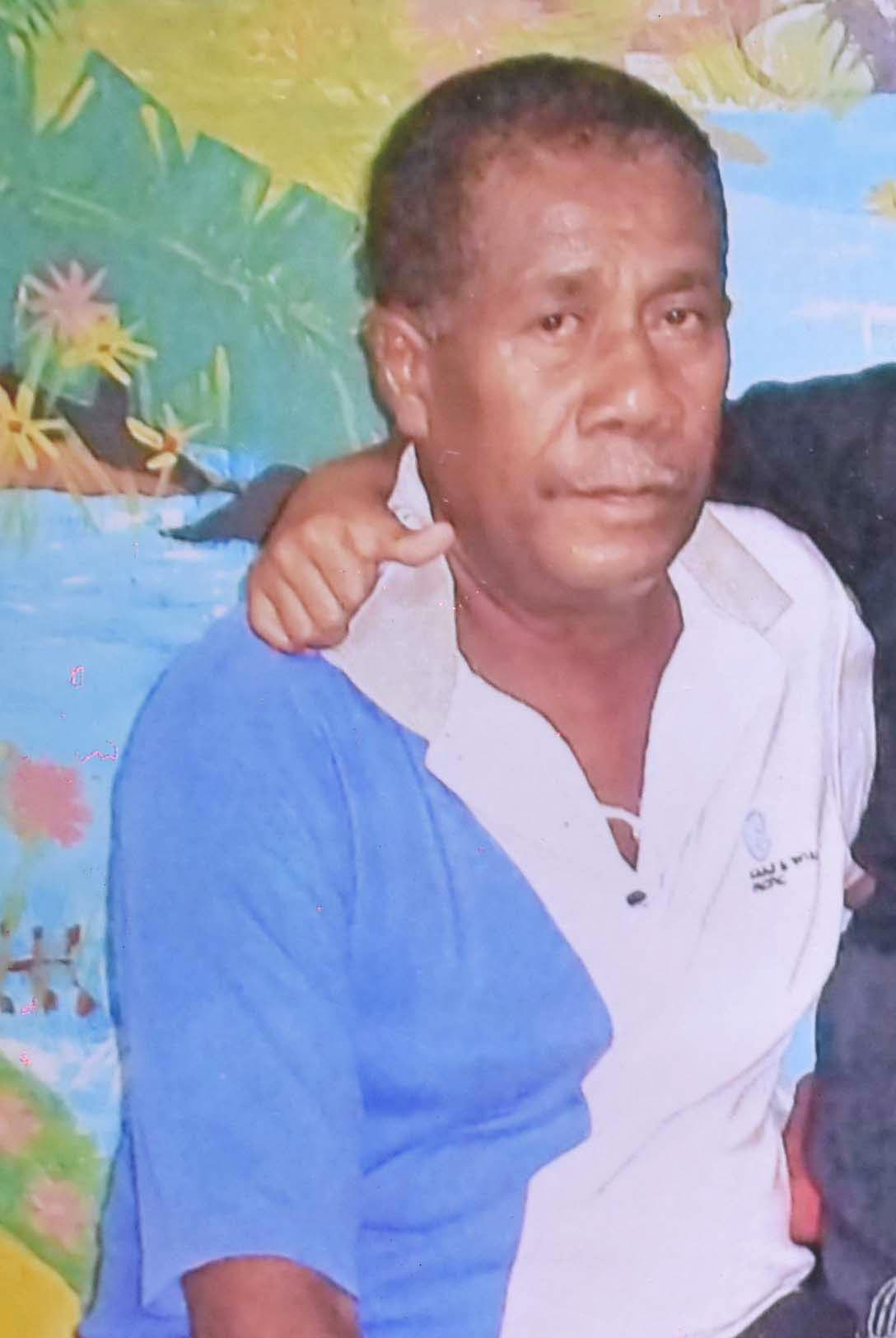 Deceased Esala Kamunaga.