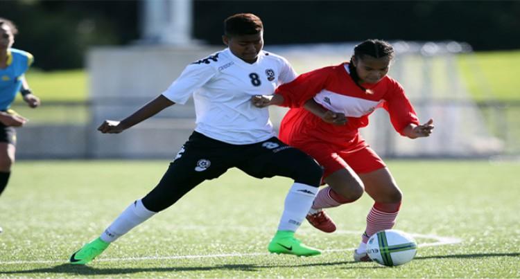 Fijian U19 Girls Too Strong For Tonga