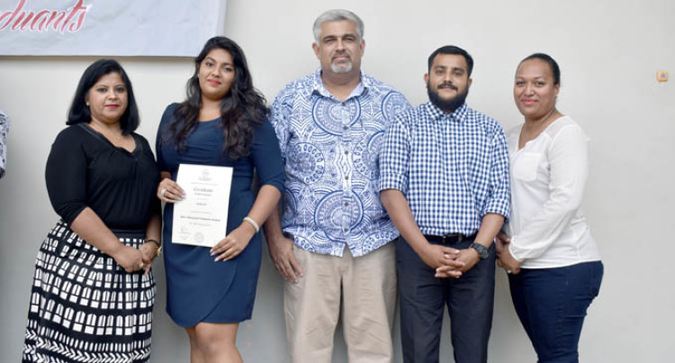 Ali's Business Dream Taking Shape With Certificate